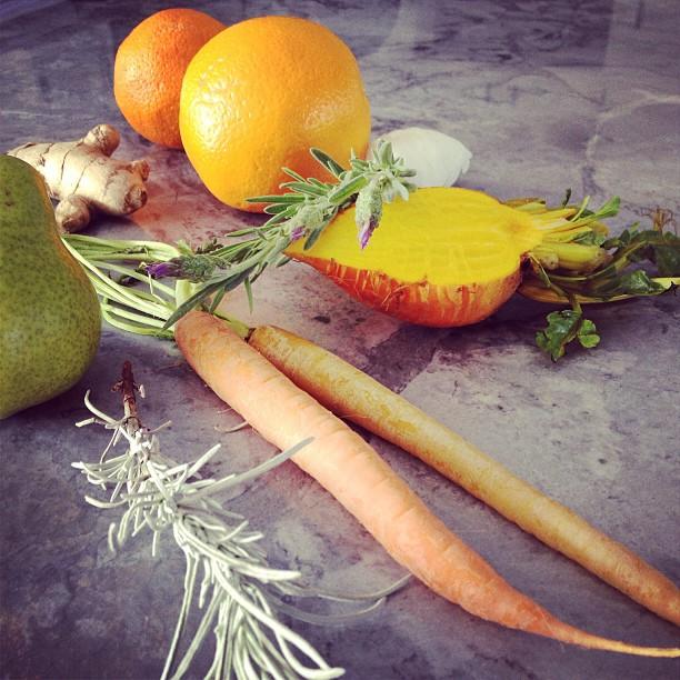 Garden Eats produce & herbs