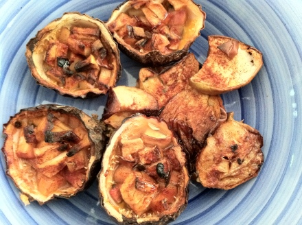 Garden Eats All Baked Passionfruit Cups