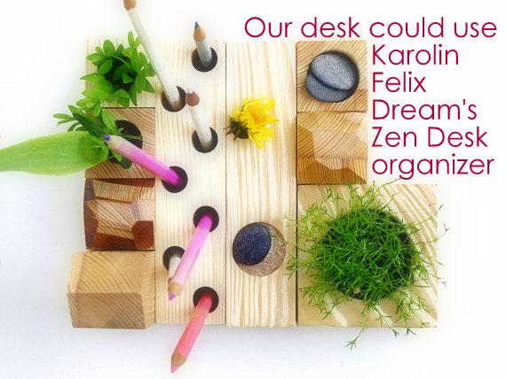 Zen Desk Organizer Garden Eats