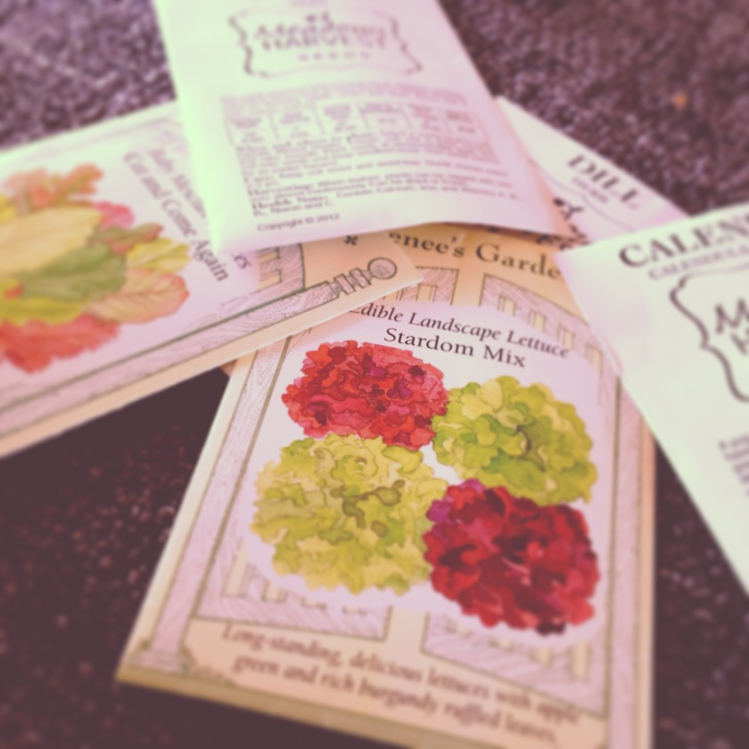 Garden Eats Seed Packets