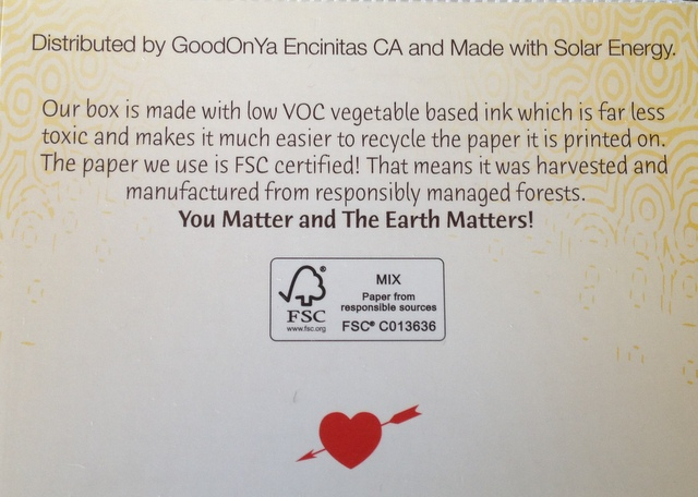 The GoodOnYa Bar You Matter