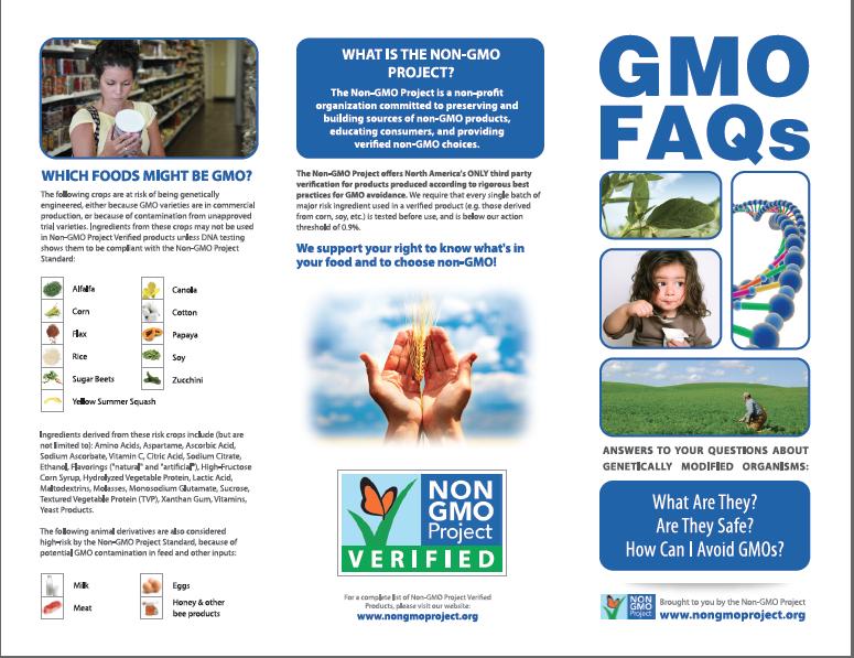 Garden Eats Non-GMO Project Poster