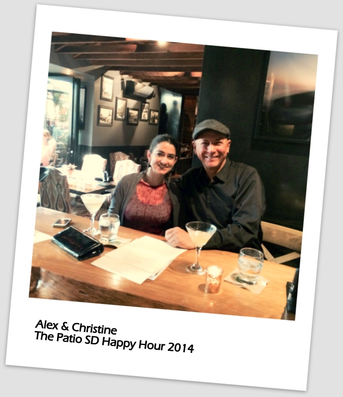 Christine of Garden Eats with Alex Barrera of The Patio SD