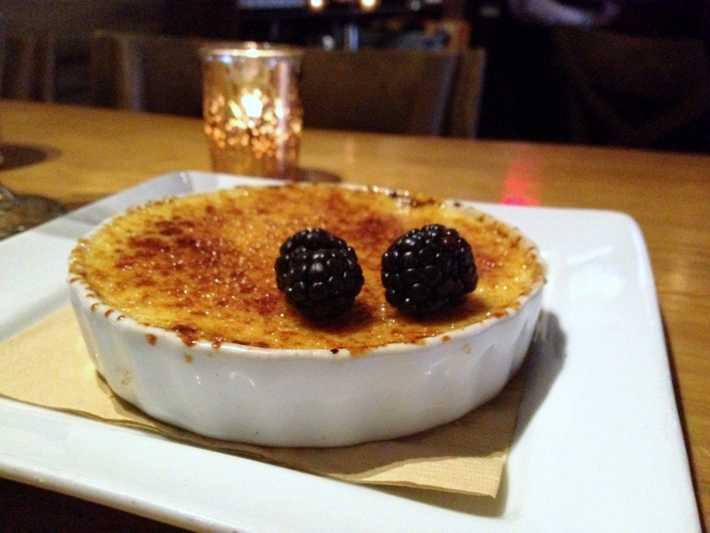 Creme Brulee The Patio SD Happy Hour