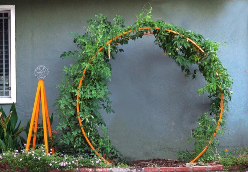 Garden Eats TerraTrellis Gracie Modern Arbor