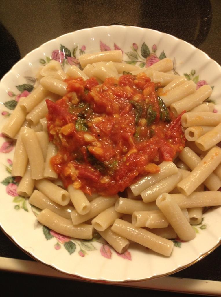 Garden Eats pasta
