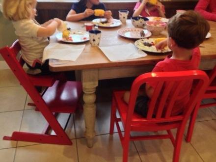 Children Eating Garden Eats