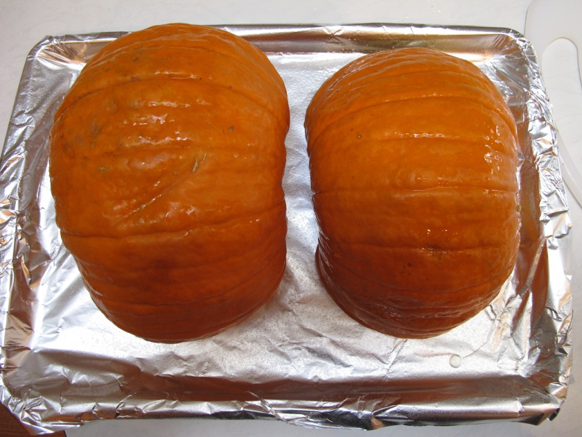 Garden Eats roasting pumpkins