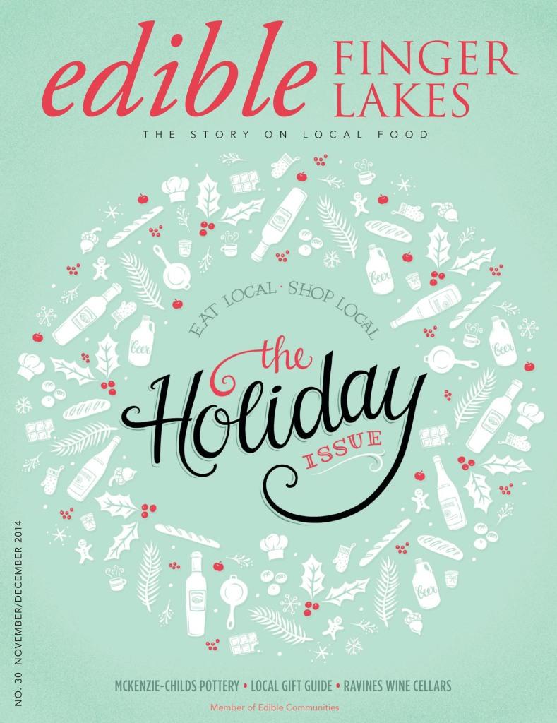Edible Finger Lakes Garden Eats Bolton Farms 2014 Holiday