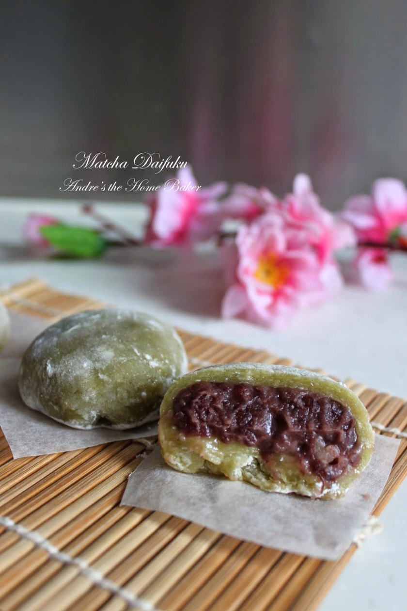 Matcha Daifuku Our Growing Edge Andre's The Home Baker