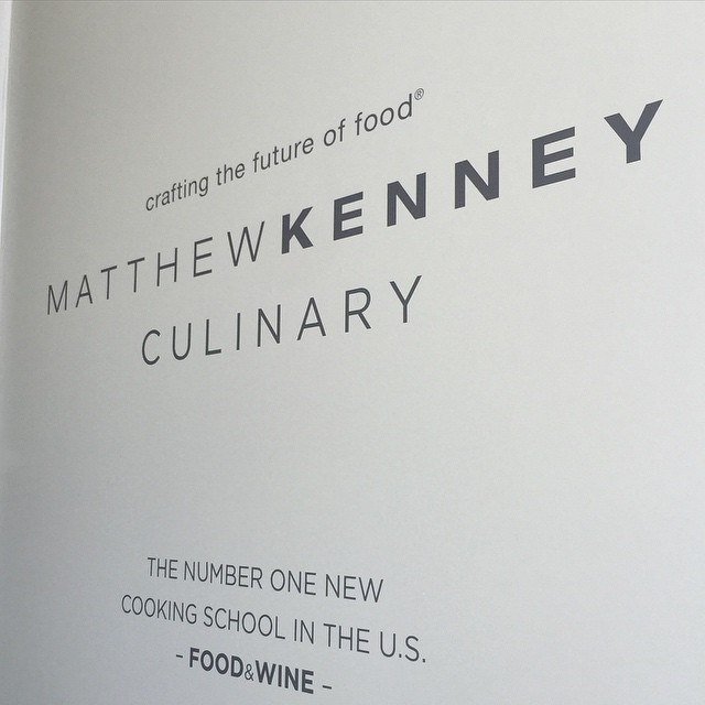 Christine Dionese teaching at Matthew Kenney Culinary