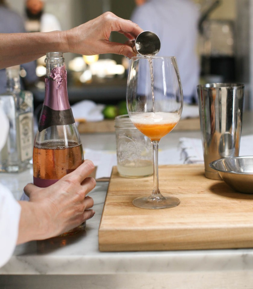 Garden Eats Matthew Kenney Culinary Rosé craft cocktail
