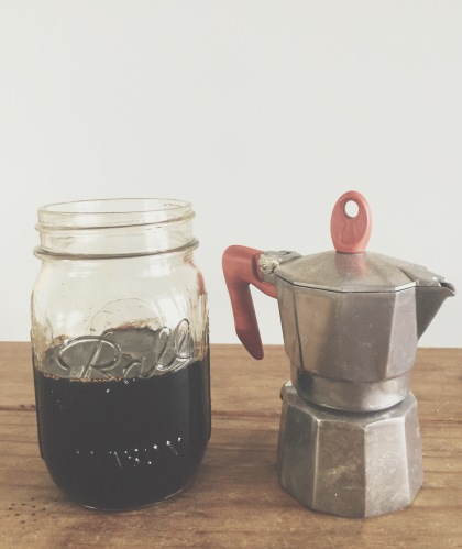Garden Eats Coffee + Adrenal Tonic Shrub Recipe