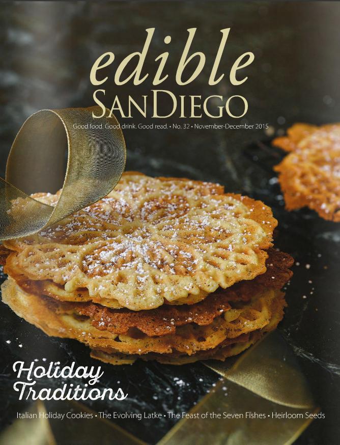 Edible San Diego Christine Dionese Heirloom Seeds Holiday Edition