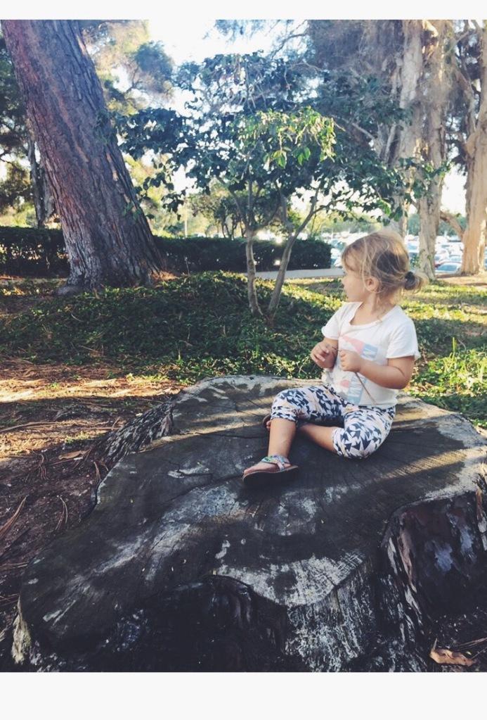 Garden Eats Milan Meditating