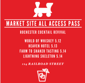 Rochester Cocktail Revival Market Site All Access Pass
