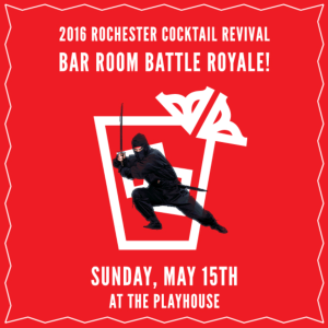 Rochester Cocktail Revival Bar Room Battle Royale